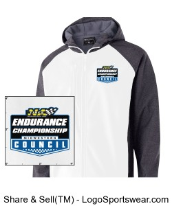 MCSCC Mens Raider Softshell Jacket - NA Tires Endurance Championship Design Zoom