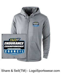 MCSCC Trophy Full Zip Tech Fleece Mens Hoodie - NA Tires Endurance Championship Design Zoom