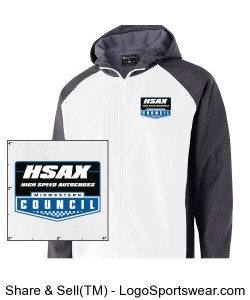 MCSCC Mens Raider Softshell Jacket - HSAX Design Zoom